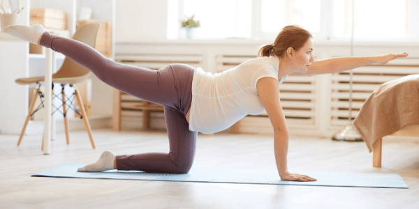 Why exercising during pregnancy is a GOOD idea